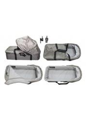 Baby Jogger Compact Pram Plus люлька компактная-плюс (песочно-серая) для 1 местных моделей City Mini, City Mini GT, City Elite, Sumit X3