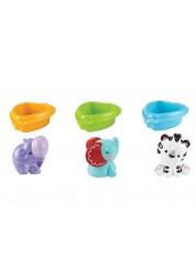 Игрушки для купания друзья на лодочках Fisher-Priсe