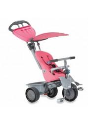 Велосипед Smart Trike Recliner 3-х колесный с ручкой, розовый