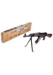 Автомат АК-47М со звуком Rinzo, черный