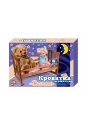 Кроватка деревянная для кукол Соня