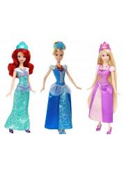 Disney Princess Куклы Ослепительные принцессы (Рапунцель, Белль, Ариель) со световыми эффектами