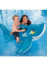 Надувное животное Акула 154х104см Intex 56567