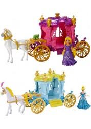 Disney Princess Кукла в наборе с каретой и лошадью 2 вида в ассортименте - Рапунцель и Золушка