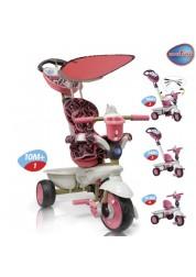Велосипед трехколесный Smart Trike Dream Touch Steering розовый