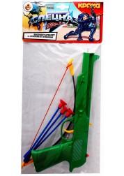 Пистолет-арбалет специального назначения - Гром с тремя стрелами на присосках в пакете