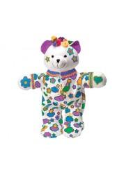 Набор Раскрась мишку (мягкая игрушка, фломастеры)