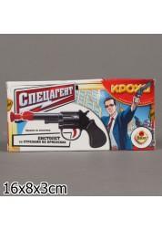 Пистолет малый в коробке - Спецагент с тремя стрелами на присосках