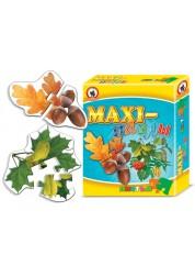 Пазлы MAXI. Листья деревьев