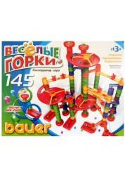 Конструктор Весёлые горки 145 элемента ( в коробке) 275b Bauer