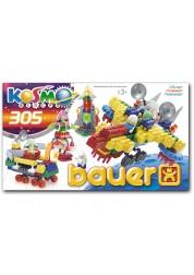 Конструктор Bauer серия Космос 305 элемента (в коробке)