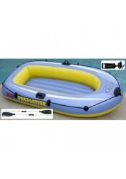 Лодка надувная PACESETTER 200 (пластиковые весла и насос ручной в комплекте) 196х102х33см Intex 58347