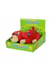Мягкая развивающая игрушка Щенок убегающий эл/мех., мягконабивная, со звуковыми эффектами