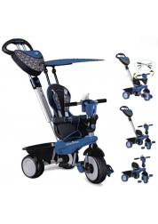 Велосипед трехколесный Smart Trike Dream Touch Steering тёмо-синий
