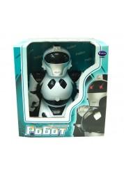 Робот р/у белый (свет, звук) Rinzo C-00061 (TT338)