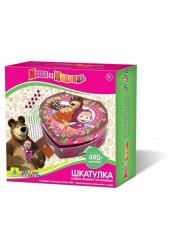 Мозаика-шкатулка Маша и Медведь Orb Factory