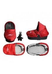 Baby Jogger Pram твердая люлька (красно-серая) для 1местных моделей City Mini,City Mini GT,City Elite