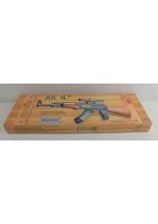 Автомат АК-47 1:1 в коробке Rinzo