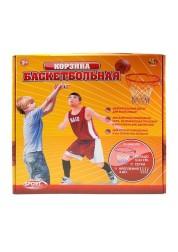 Баскетбольная корзина с сеткой и креплениями Abtoys