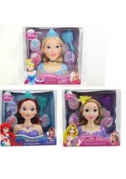 Кукла-модель для создания причесок Дисней (Ариэль, Золушка, Рапунцель)