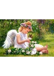 Пазл Castorland Ангел в саду, 500 деталей