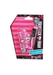 Набор косметики для губ с подвеской Monster High