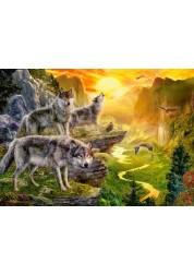 Пазл Castorland Долина волков, 500 деталей