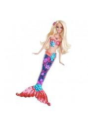 Кукла Барби Русалка-сверкающие огоньки в ассортименте