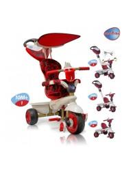 Велосипед трехколесный Smart Trike Dream Touch Steering красный