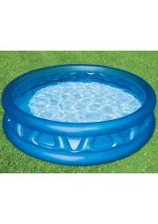 Бассейн надувной Soft Side Pool серый 188х46см Intex 58431