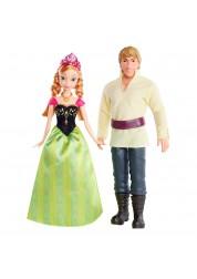 Disney Princess Куклы - герои м/ф Frozen Анна и Кристоф 23х6х32см
