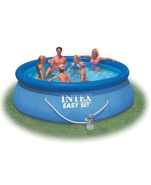 Надувной бассейн Easy Set 366х91см (видео,насос-фильтр,скиммер) Intex 56932