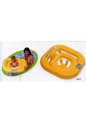 Плотик надувной Deluxe Baby Float Pool School 79х79см Intex 58577
