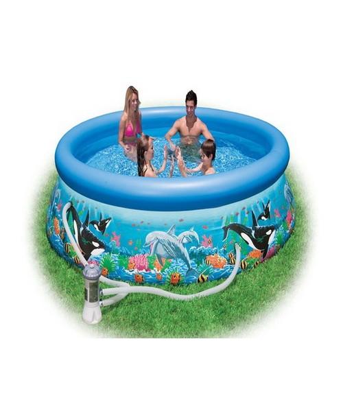 Бассейн надувной с насосом-фильтром 305х76 см Intex 54902