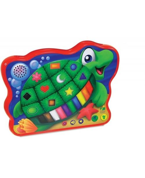 Развивающая игрушка Веселая морская черепашка (сенсорные кнопки)