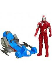 Avengers Титаны: Железный человек на транспортном средстве