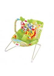 Кресло-качалка Веселые обезьянки из тропического леса Fisher-Price