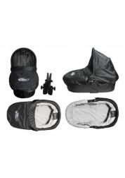 Baby Jogger Pram твердая люлька (черно-серая) для 1местных моделей City Mini,City Mini GT,City Elite