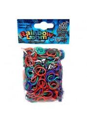 Резиночки Rainbow Loom для плетения браслетов Разное настроение Хамелеон (24 с-клипсы+600 резиночек)
