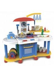 Кухня с водой и набором аксессуаров (свет, звук) Помогаю маме Abtoys PT-00196