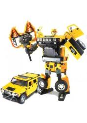 Робот-трансформер Hummer Roadbot 1:18 Happy Well