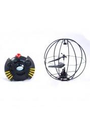 Вертолет Сферолет на ИК управлении, гироскоп, зарядное устройство, аккумулятор