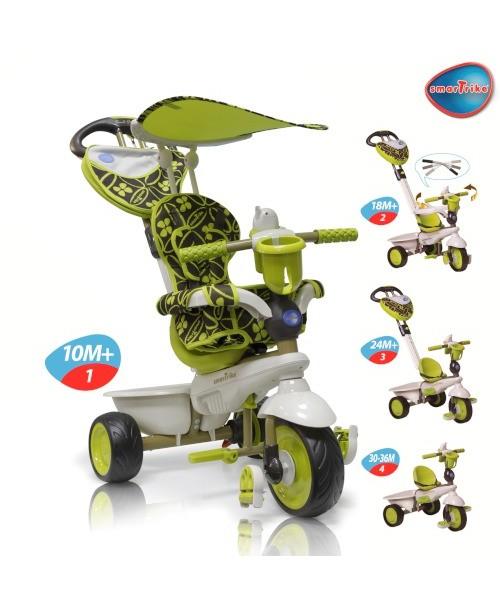 Велосипед трехколесный Smart Trike Dream Touch Steering зелёный