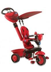 Велосипед Smart Trike Zoo Lady Bug 3х колесный с ручкой, красный