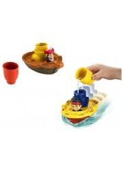 Набор Быстроходный катер (для ванны) Джейк и пираты Нетландии