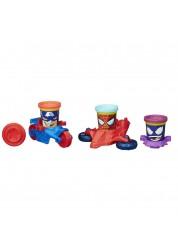 Play-Doh Транспортные средства героев Марвел