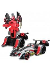 Робот трансформирующийся стреляющий присосками Twist and Shoot