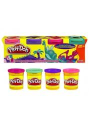 Play-Doh Набор из 4-х баночек пластилина Hasbro 22114H