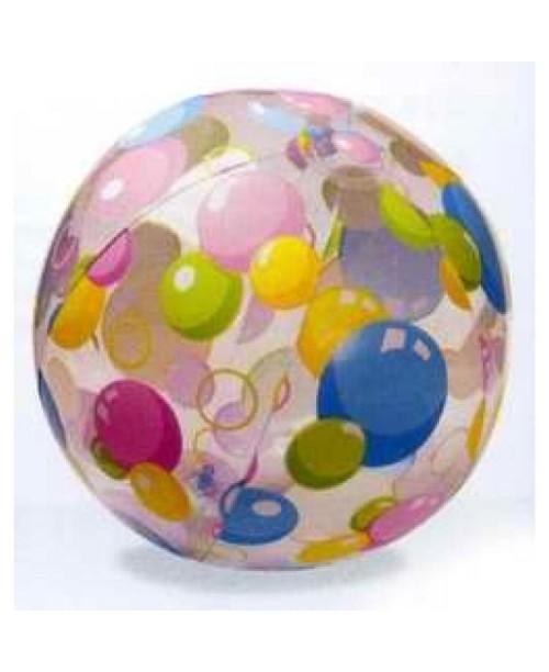 Мяч надувной Lively Print Bals 61см Intex 59050