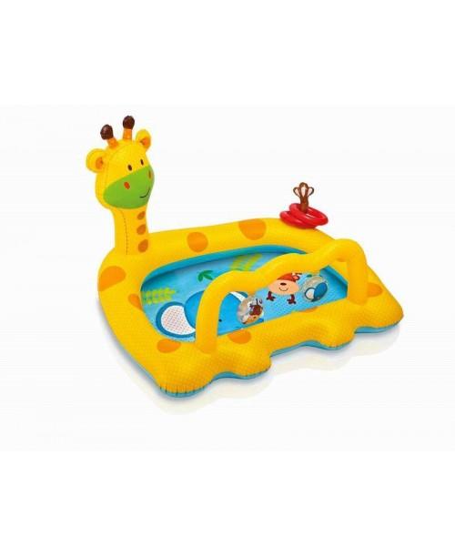 Бассейн для малышей ЖИРАФ 112х91х71см Intex 57105
